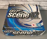 Scene It? 2004 DVD Board Game James bond 007 Edition - Sealed Contents