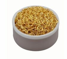 200/1000PCs silver Gold Bronze Open Jump Ring Split Rings Jewelry Findings 3-8mm