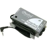 Radial StageBug SB-5 Laptop stereo Direct Box Optimized f Consumer Device Audio