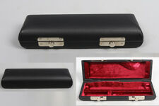 Yinfente Black Piccolo Flute Hard Case Faux Leather Outer Piccolo Case Holder