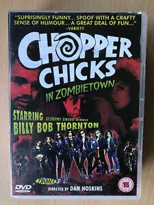 Chopper Chicks IN Zombie Town DVD 1989 Troma Culte Horreur Film Classique