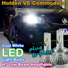 #H39 Pair H7 LED Light Bulbs to suit Holden/HSV VE Commodore Low Beam Cool White