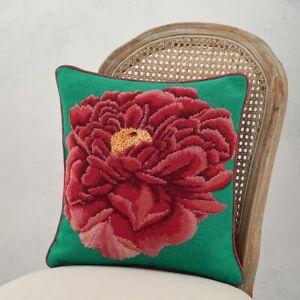 Ehrman Kaffe Fassett DARK PEONY Floral Cushion Needlepoint Tapestry Kit
