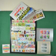SINGAPORE STAMPS SELECTION ON 2 SIDES OF LARGE STOCK CARD  (C59)
