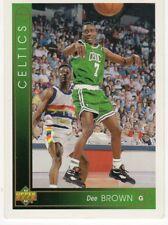 figurina CARD BASKET NBA 1994 NEW numero 14 DEE BROWN