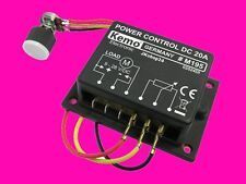 NEU! M195 Leistung-Regler POWER CONTROL 9-28V/DC | 20A Motorregler Lampendimmer