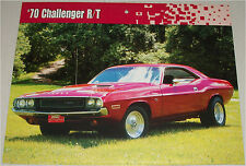1970 Dodge Challenger RT 2 dr ht car print (pink)