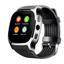 Bluetooth Smart Watch With Heart Rate Monitor Blood Pressure For Samsung iPhone