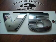 VW,V5,V 5,Golf 4,Bora,Passat,Beetle,Seat,Toledo,2,3,Neu,Emblem,Schriftzug,Heck