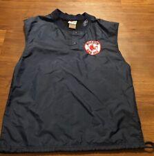 Vintage 1990's Rawlings Boston Red Sox Catchers Bullpen Warmup Windbreaker Vest