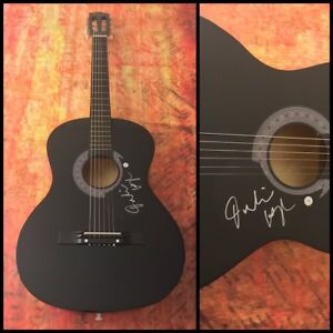 GFA Will You Dance With Me JULIANNE HOUGH Signed Acoustic Guitar COA