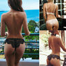 Women String Lace Brief Underwear Panties T Rope Exotic Lingerie New