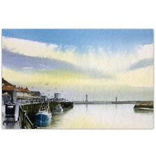 Whitby, Yorkshire, Original Watercolour Painting by Ben Jackson