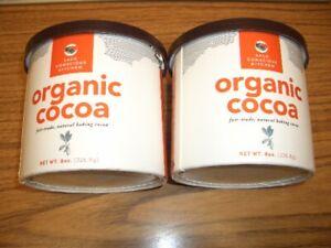 Saco Kitchen Organic Cocoa Powder -2 Containers 8 oz each 9/24/2023