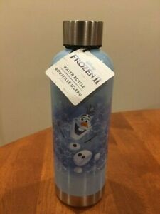 NWT Frozen 2 Williams Sonoma Olaf Disney Stainless Steel Water Bottle NEW