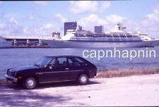 Chevrolet CHEVETTE Car & Cruise Ship Song Of Norway Vintage Slide Photo