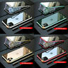 Magnetic Adsorption Double Side Glass Case Cover For iPhone 11 Pro Max XS XR 8 7