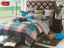 EVERTON Super King Size Bed Duvet/Doona/Quilt Cover Set New 100% Cotton