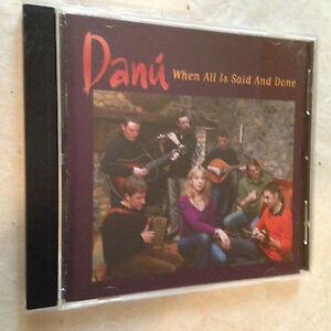 DANU CD WHEN ALL & SAID AND DONE SH 78061 2005 FOLK