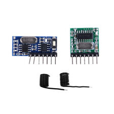 433Mhz Wireless RF 4 Channel Output Receiver Module and Transmitter EV1527 H.gu