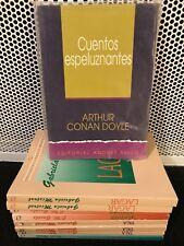 CUENTOS ESPELUZNANTES ARTHUR CONAN DOYLE - Spanish Literature Libros en Espanol