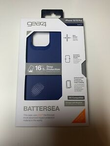 New Gear4 Battersea Series Case for Apple iPhone 12/ 12 Pro (6.1-inch) - Navy