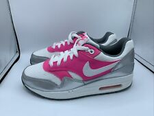 GIRLS NIKE AIR MAX 1 GS 'WHITE PINK POW' SIZE 4.5 NEW 653653 108 DEADSTOCK