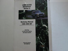 1999 2000 2001 2002 2003 Land Rover Discovery Series 2 II Service Repair Manual