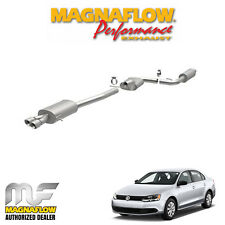 "MAGNAFLOW 2.5"" Cat Back Dual Exhaust System 2012-2014 Volkswagen Jetta 2.5L"