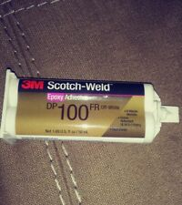3M Scotch-Weld Epoxy Adhesive, Clear, DP100 1.7-Ounce