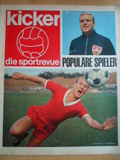 KICKER 47- 23.11. 1964 1860 München-Bremen 3:1 Schalke-Köln 2:3 HSV-Dortmund 1:4