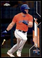 2020 Pro Debut Chrome Base #PDC-47 Tim Tebow - Syracuse Mets