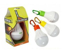 1 x Hanging Eco LED ORB Light Camping Lantern Tent Shed Light Battery Operated
