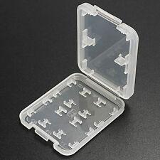 5pcs 8 in1 Micro SD SDHC TF MS Speicherkarte Box Schutzhülle Halter