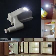 DIY Cool White Cabinet Hinge LED Light For Wardrobe Cupboard Home Kitchen Closet