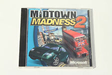 Midtown Madness 2 (PC, 2000) Jewel Case - Tested