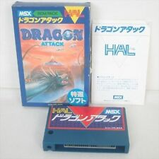 MSX DRAGON ATTACK Import Japan Video Game 1958 msx