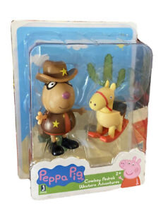 Peppa Pig Cowboy Pedro's Western Adventures Collectible Figure with Pony