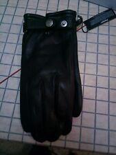 Glove story black leather Gloves Size M  Winter