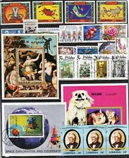 Worldwide Mix = DISNEY = SPACE = DOGS & CATS = ALLEGORY PAINTING = & Stamp Mix