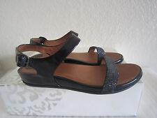 Fitflop Navy Patent Leather  'banda  Roxy' Slingback Sandal Sz 42 Us 10