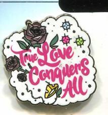 Princess Quotes Flair Icons Aurora True Love Conquers All Disney Pin