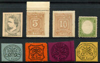 Great FORGERIES Reprint Stamps Postage Collection Reprint