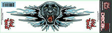 Lethal threat sticker autocollant panther Attack Casque Bike quad voiture camion