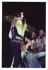 ELVIS PRESLEY CONCERT PHOTOGRAPH - LONG ISLAND, NY - JULY 19, 1975
