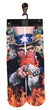 ODD SOX [CONSPIRACY] SOCKS SOCKEN 40-46 BANDANA USA I WANT YOU TATTOO INK  ODD S