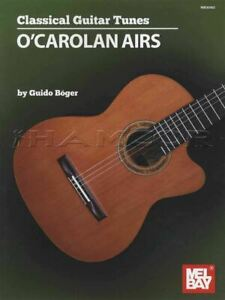 Classical Guitar Tunes O'Carolan Airs Sheet Music Book Irish SAME DAY DISPATCH