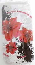 NEW iPhone4/4s Case hard/soft colorful flower