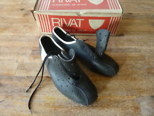 Chaussures de cyclisme ancienne   - RIVAT - Made in France - T38