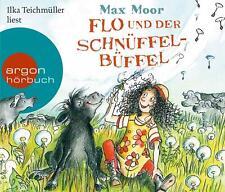 Flo und der Schnüffel-Büffel von Max Moor (Audio-CD)